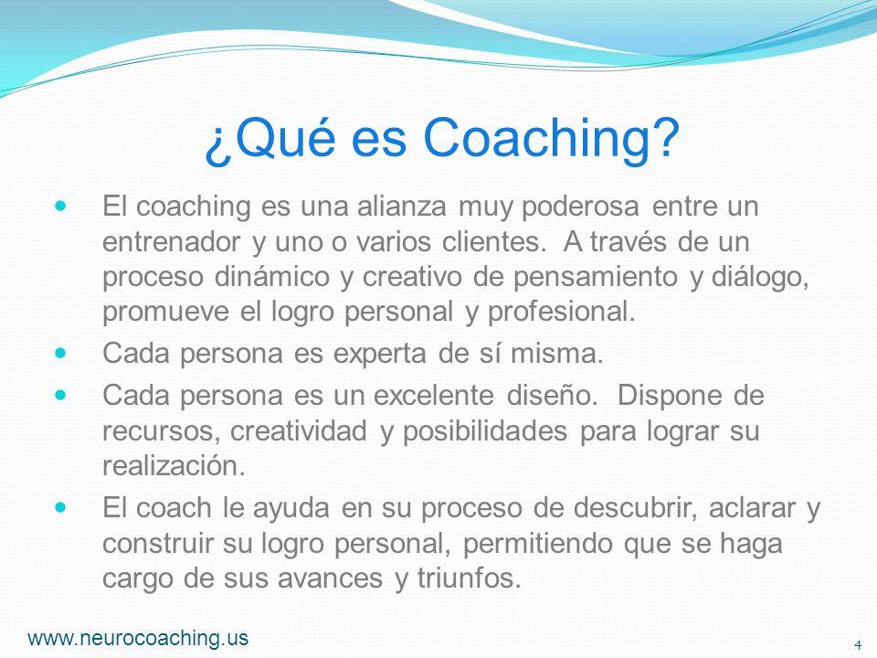¿Qué es Coaching