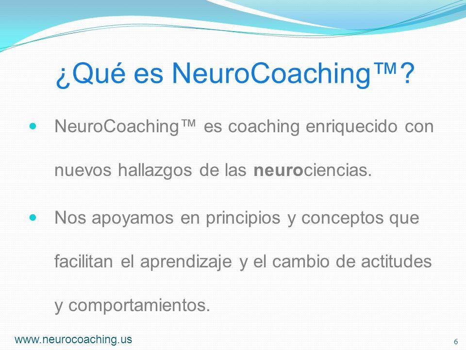 ¿Qué es NeuroCoaching™