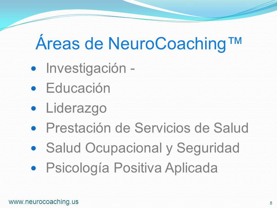 Áreas de NeuroCoaching™