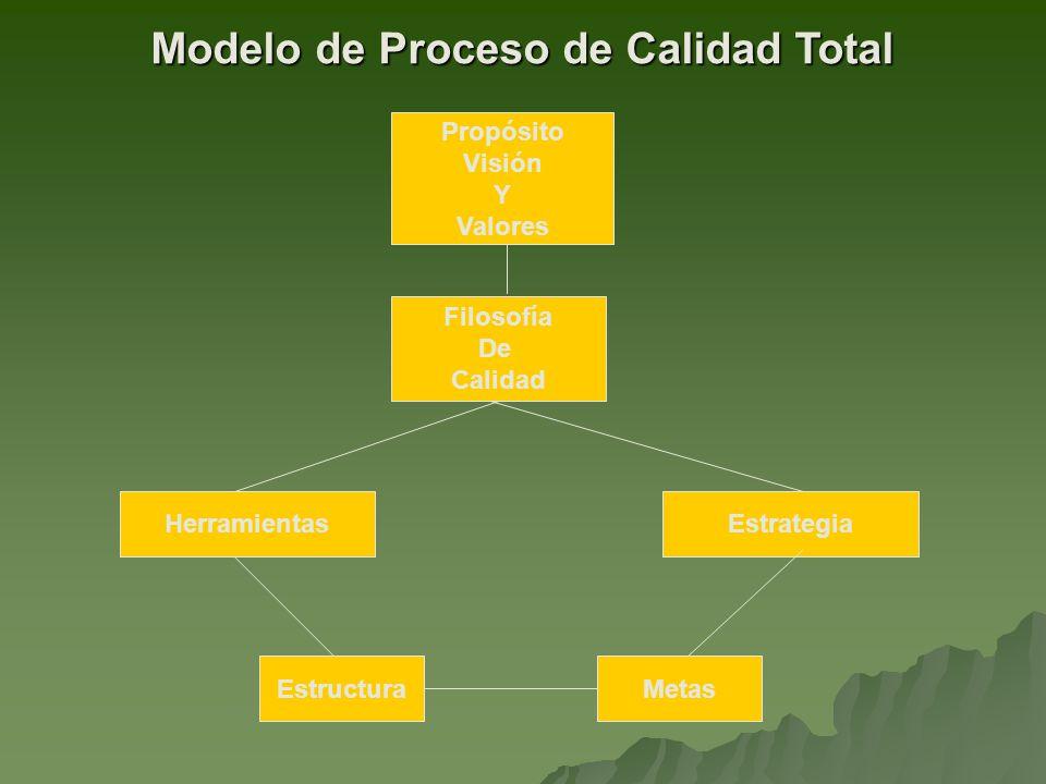 Modelo de Proceso de Calidad Total
