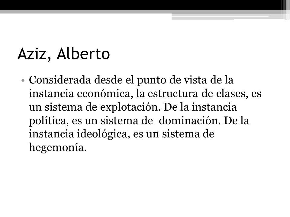 Aziz, Alberto
