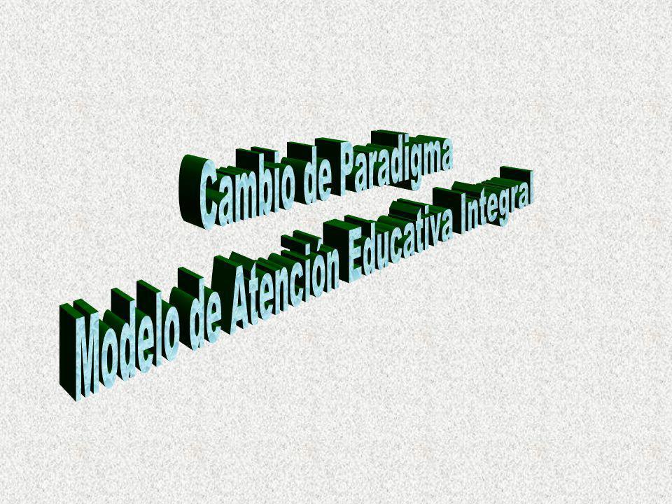 Modelo de Atención Educativa Integral