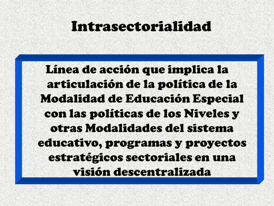 Intrasectorialidad
