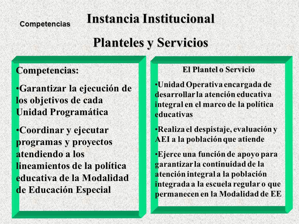 Instancia Institucional