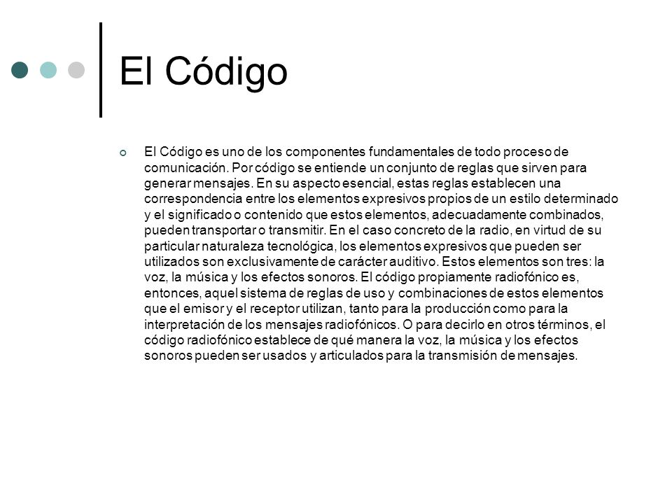 El Código
