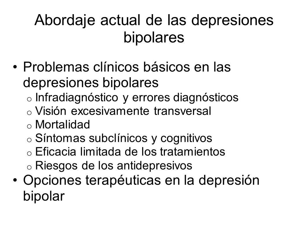 Abordaje actual de las depresiones bipolares