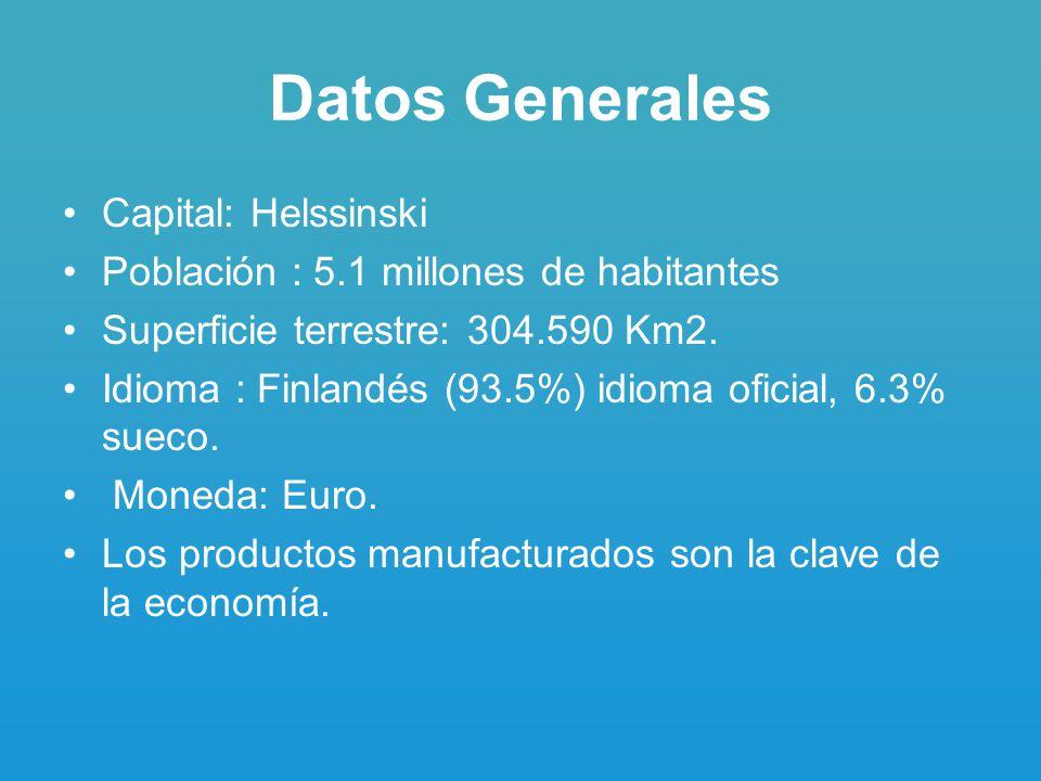Datos Generales Capital: Helssinski