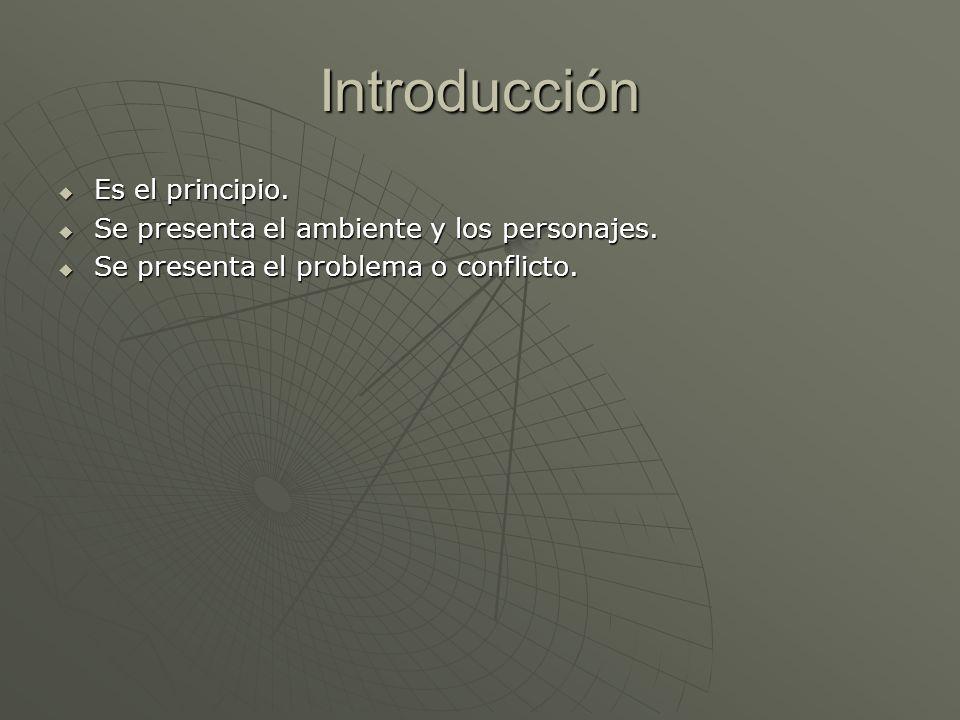 Introducción Es el principio.