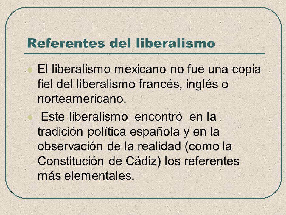 Referentes del liberalismo