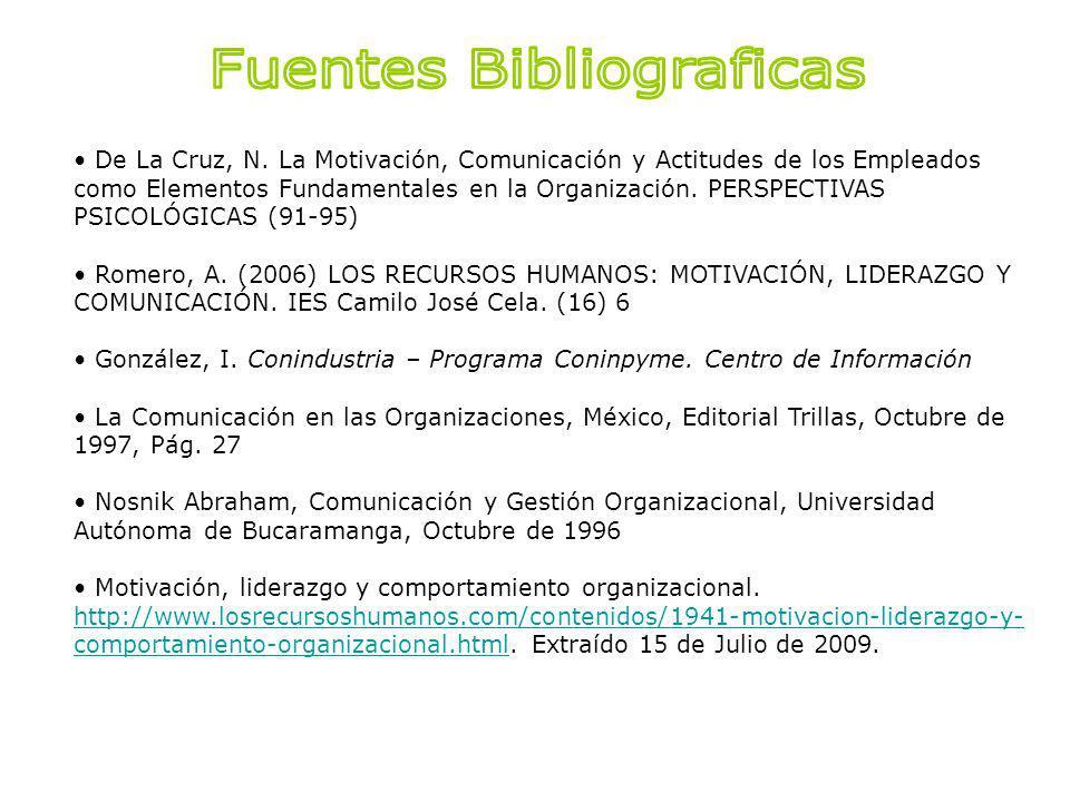 Fuentes Bibliograficas
