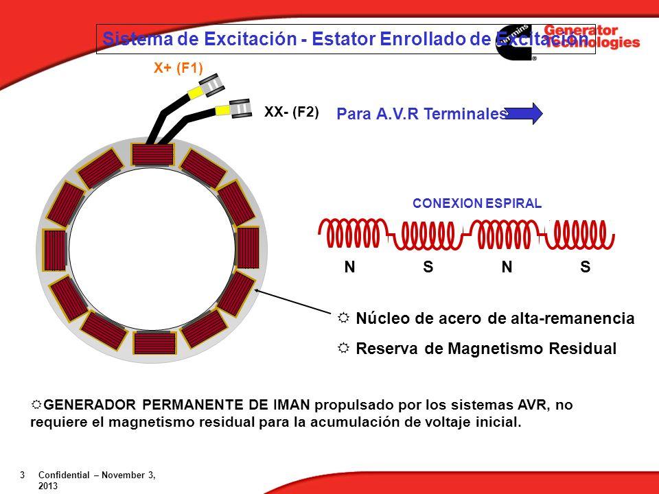Sistema de Excitación - Estator Enrollado de Excitación