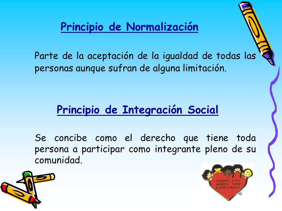Principio de Normalización
