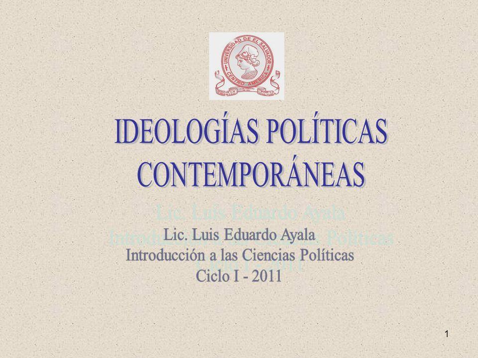 Introducción a las Ciencias Políticas