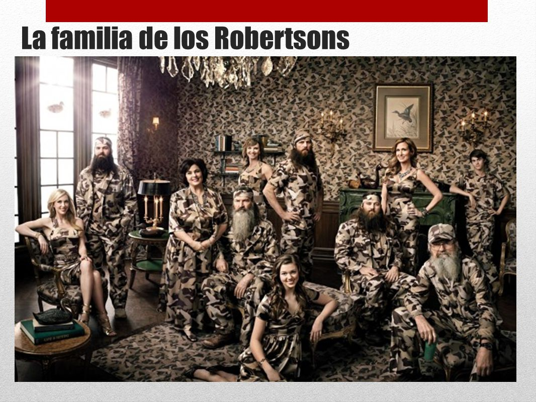 La familia de los Robertsons