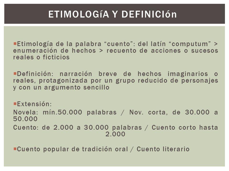 ETIMOLOGíA Y DEFINICIón
