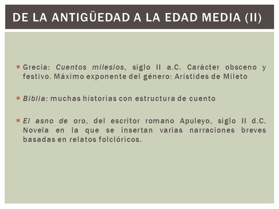 DE LA ANTIGÜEDAD A LA EDAD MEDIA (II)