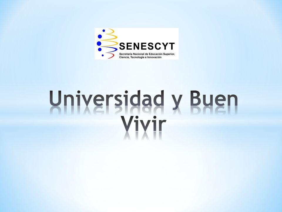 Universidad y Buen Vivir