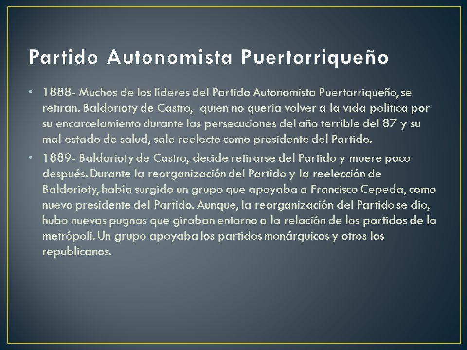 Partido Autonomista Puertorriqueño