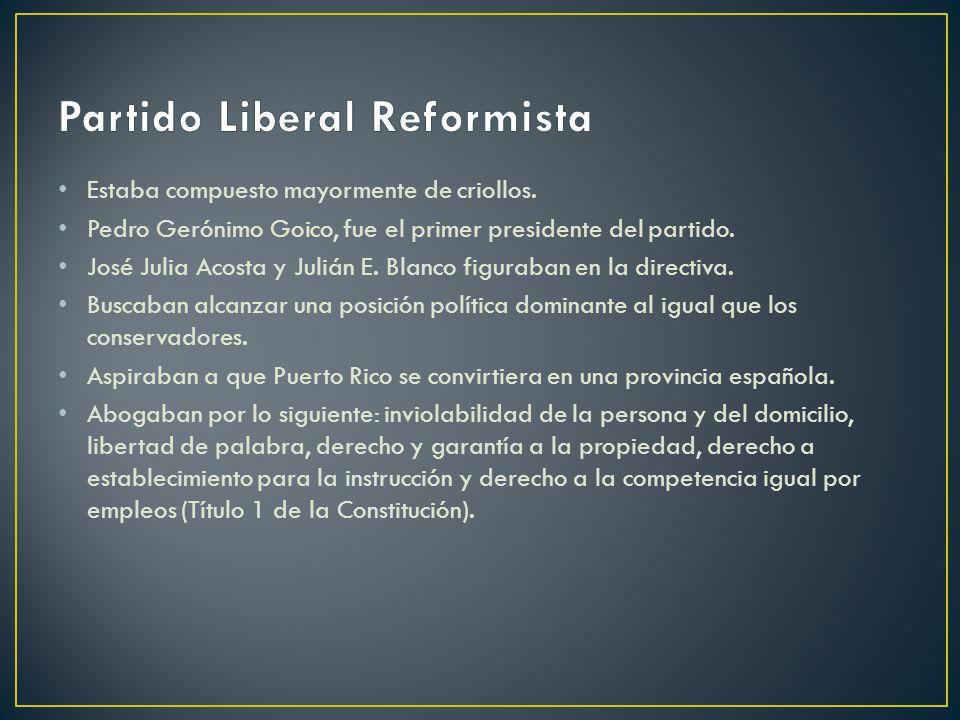Partido Liberal Reformista