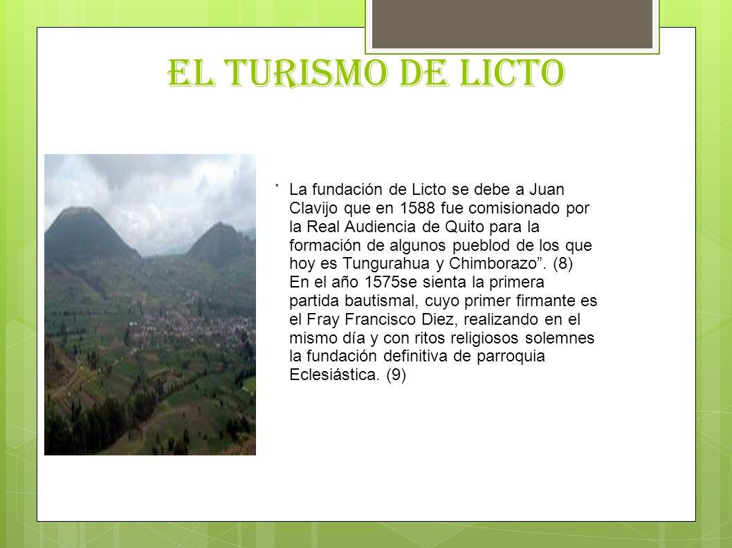 EL TURISMO DE LICTO .