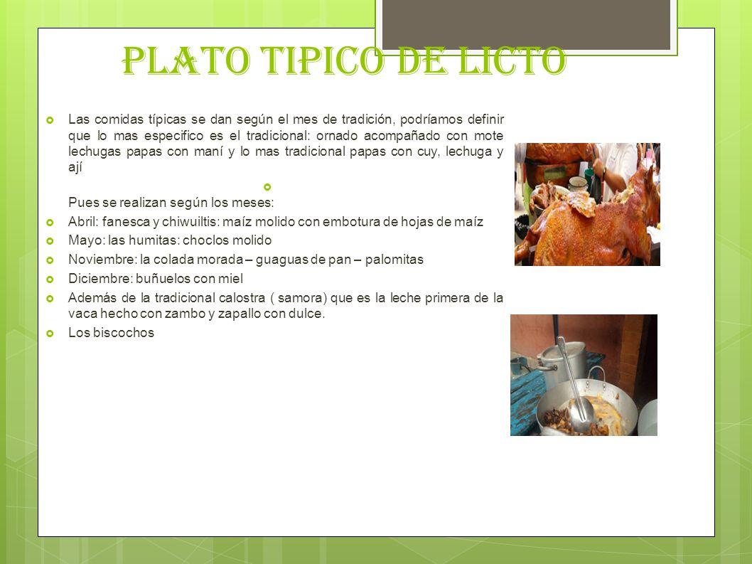 PLATO TIPICO DE LICTO