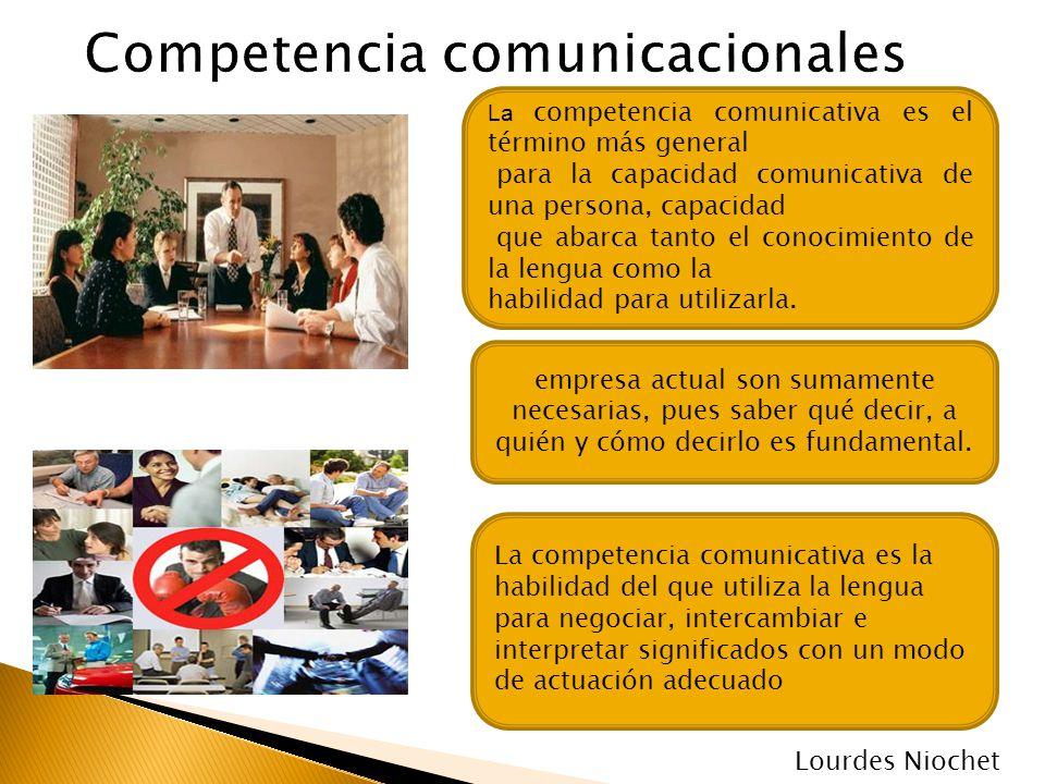 Competencia comunicacionales