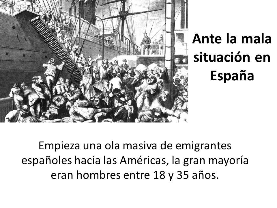 Ante la mala situación en España