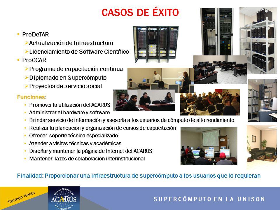 Casos de éxito ProDeTAR Actualización de Infraestructura