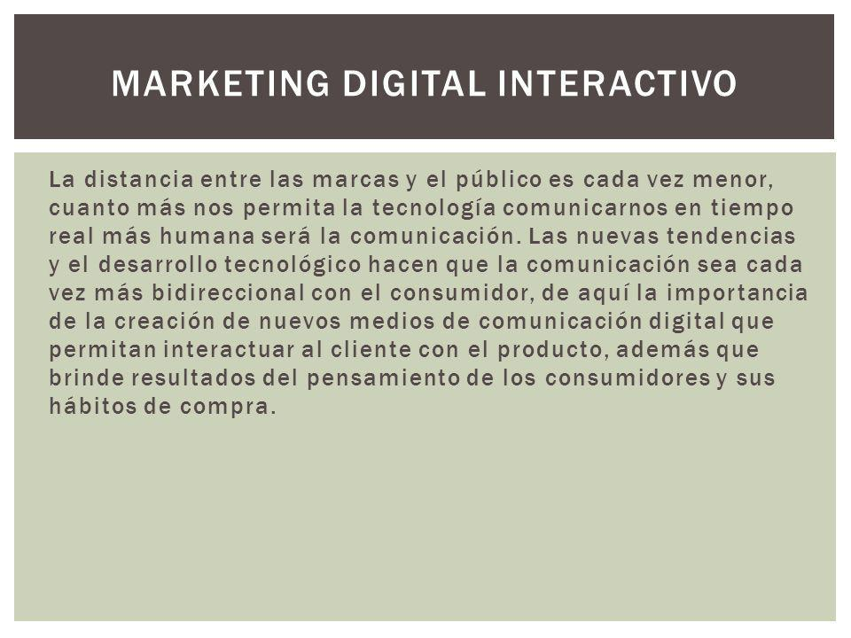 Marketing Digital Interactivo