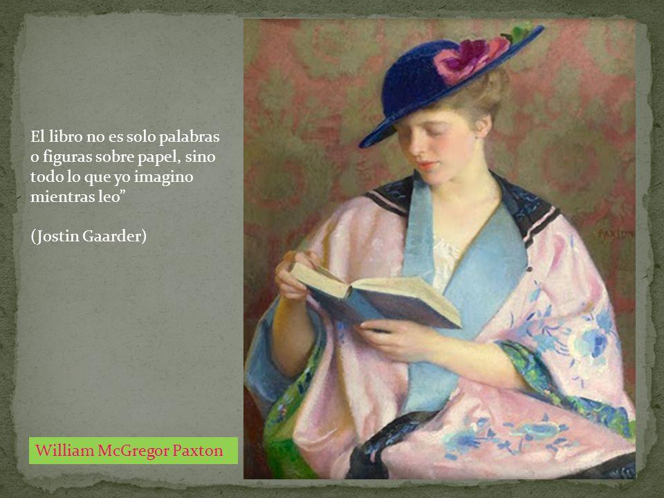 El libro no es solo palabras o figuras sobre papel, sino todo lo que yo imagino mientras leo
