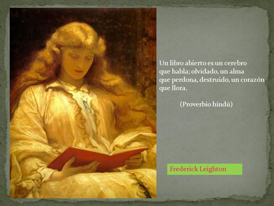 Un libro abierto es un cerebro