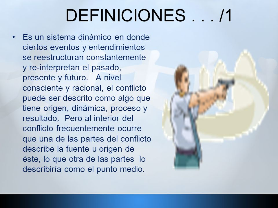 DEFINICIONES . . . /1