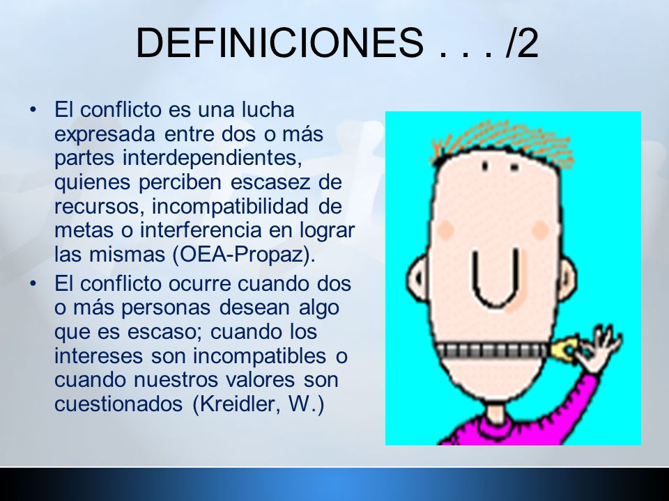 DEFINICIONES . . . /2