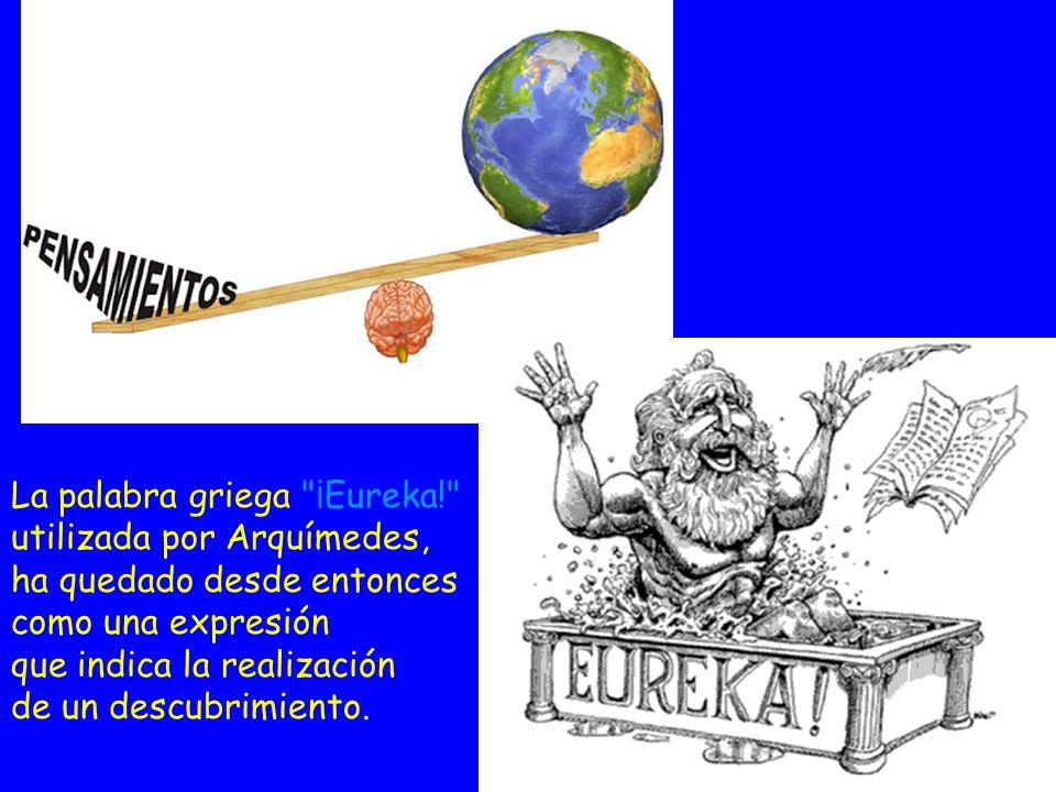 La palabra griega ¡Eureka