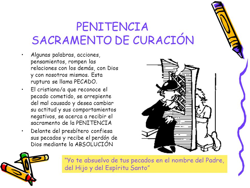 PENITENCIA SACRAMENTO DE CURACIÓN