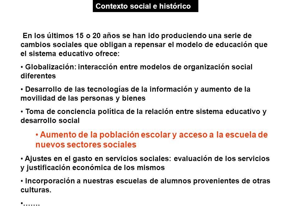 Contexto social e histórico