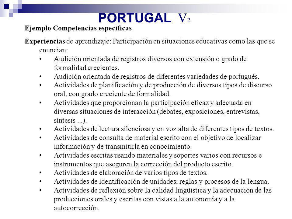 PORTUGAL V2 Ejemplo Competencias específicas