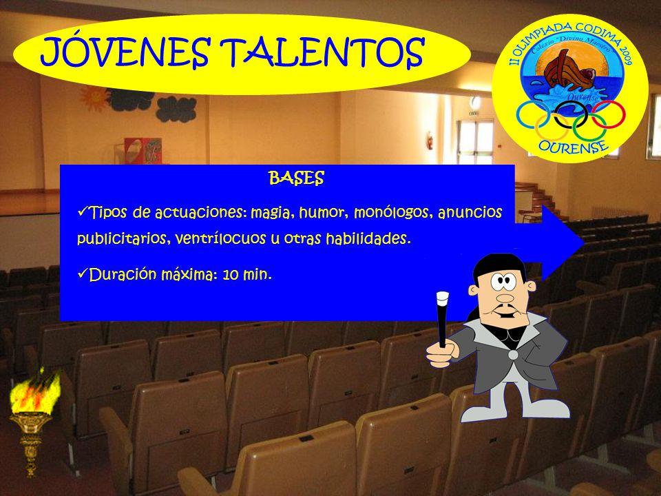 JÓVENES TALENTOS BASES