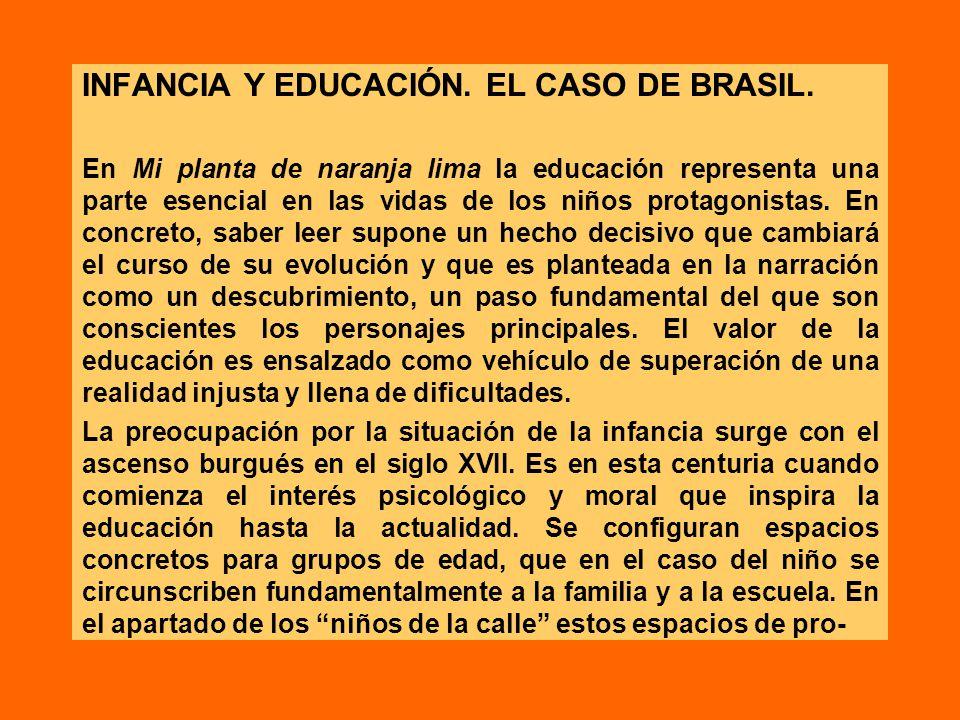 INFANCIA Y EDUCACIÓN. EL CASO DE BRASIL.