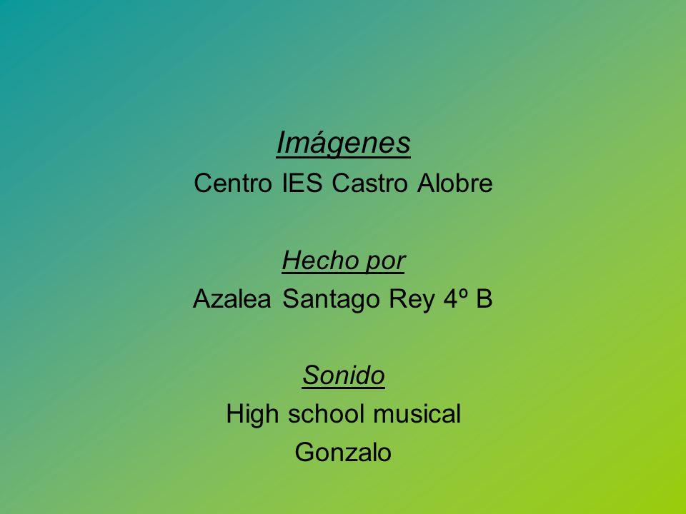 Imágenes Centro IES Castro Alobre Hecho por Azalea Santago Rey 4º B