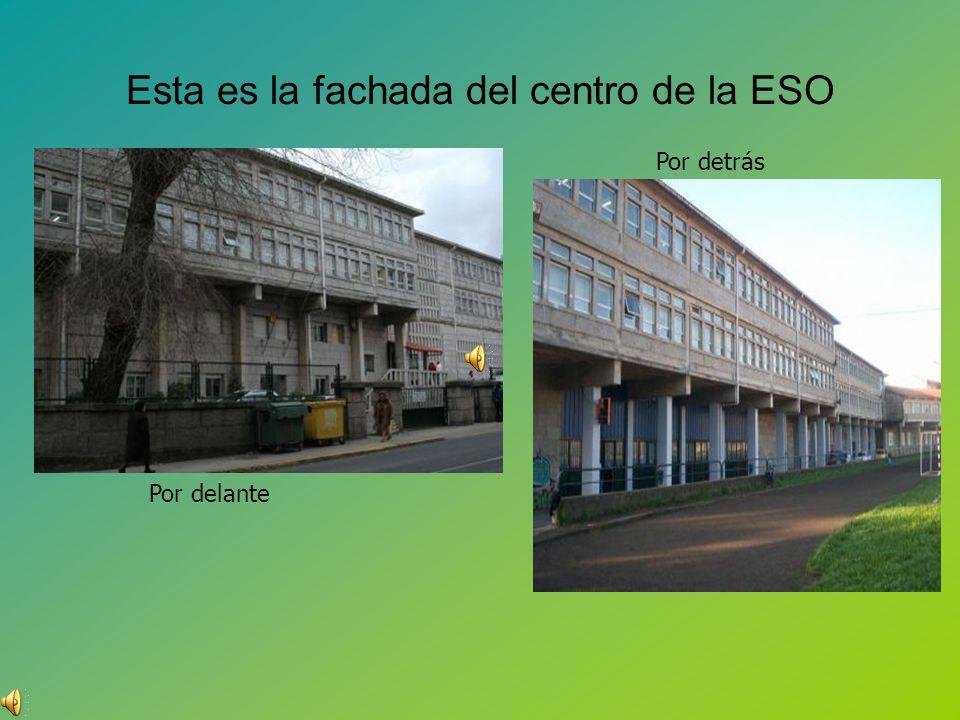 Esta es la fachada del centro de la ESO