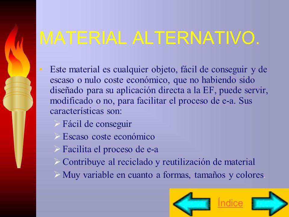 MATERIAL ALTERNATIVO.