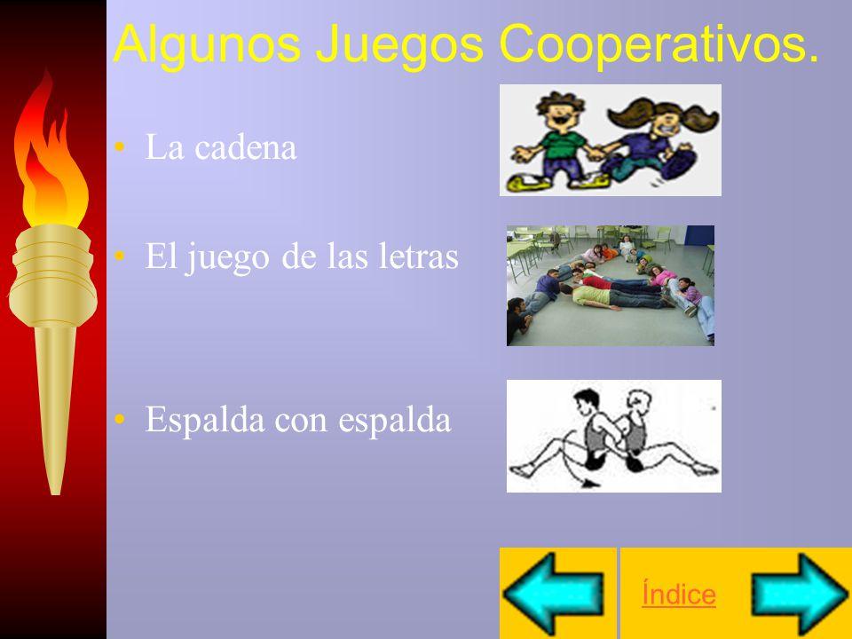 Algunos Juegos Cooperativos.