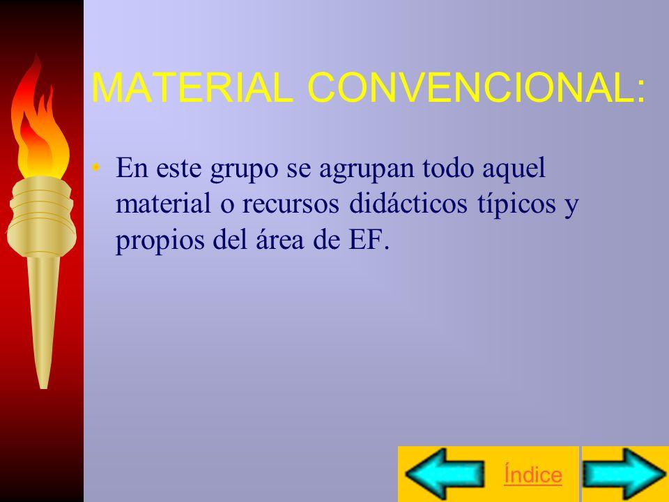 MATERIAL CONVENCIONAL: