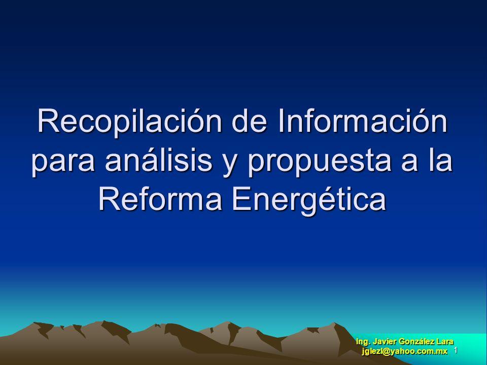 Ing. Javier González Lara jglezl@yahoo.com.mx