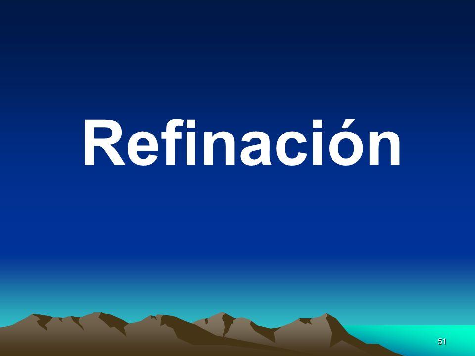 Refinación
