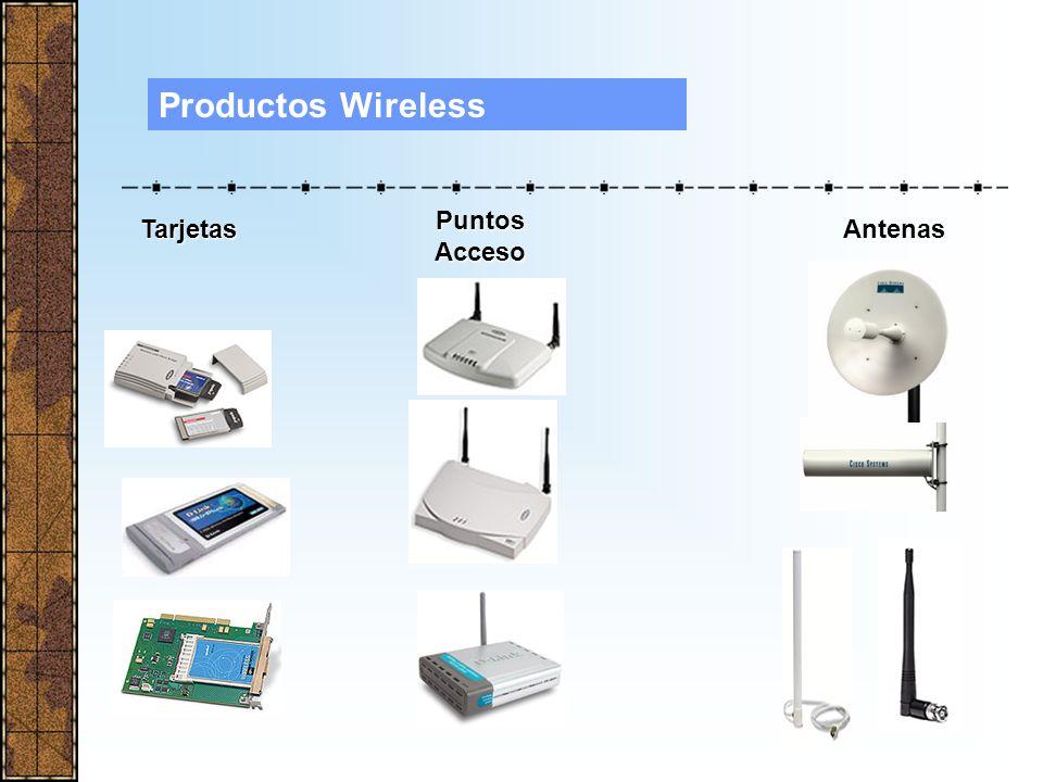 Productos Wireless Puntos Acceso Tarjetas Antenas