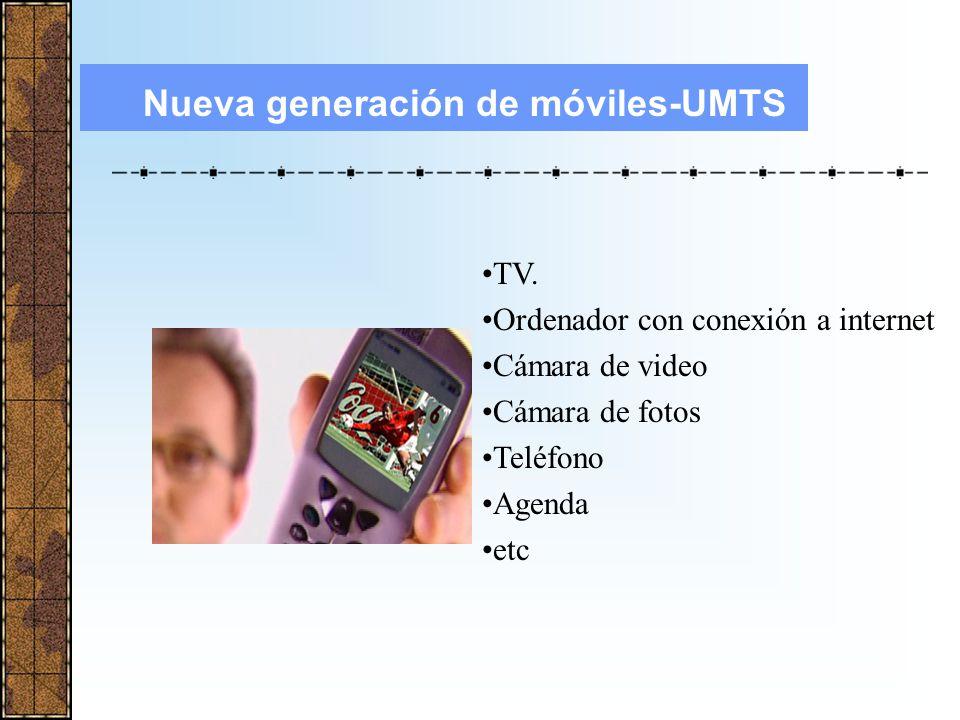 Nueva generación de móviles-UMTS