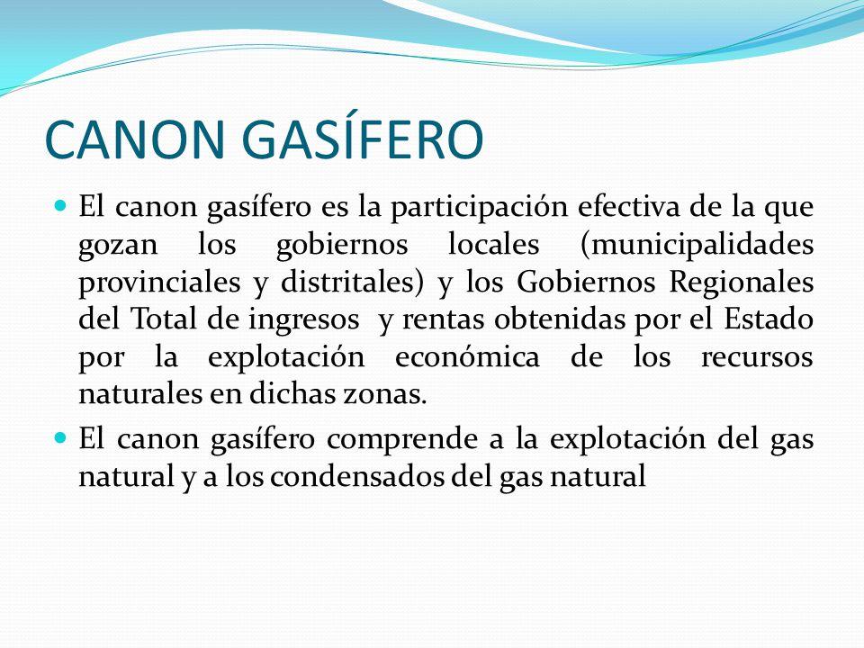 CANON GASÍFERO