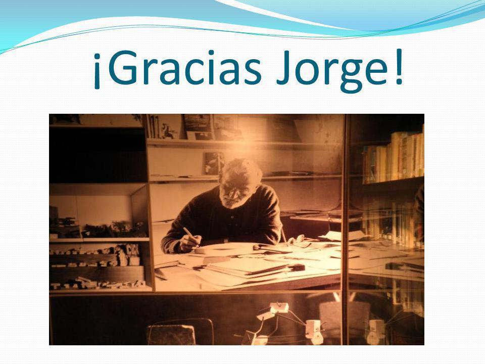 ¡Gracias Jorge!